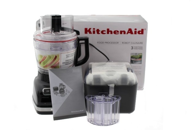 KITCHENAID KFP1133OB 11-CUP FOOD PROCESSOR WITH EXACTSLICE SYSTEM