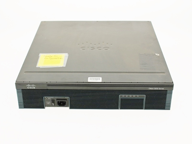 CISCO 2921 INTEGRATED SERVICES ROUTER W/ 2*VIC2-4FX0 VIC3-4FXS/DID VWIC2-1MFT-T1/E1