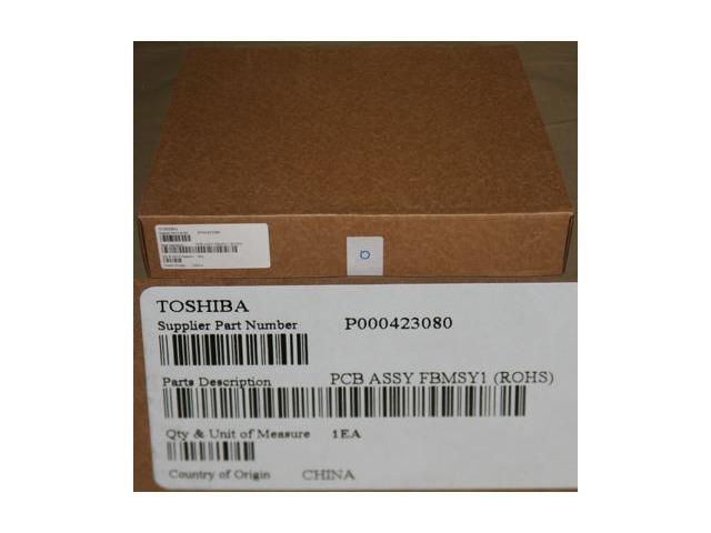 TOSHIBA P000423080 MOTHERBOARD FBMSY1 R10 R15 LAPTOP