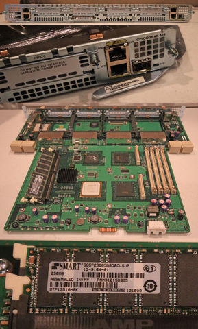 CISCO 3845-MB INTEGRA SERVICES ROUTER BOARD MOTHERBOARD