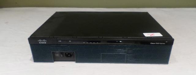 CISCO 2911/K9 V06 ROUTER W/ VWIC3-2MFT-T1/E1 CARD & QUAD PORT VIC3-4FXS/DID