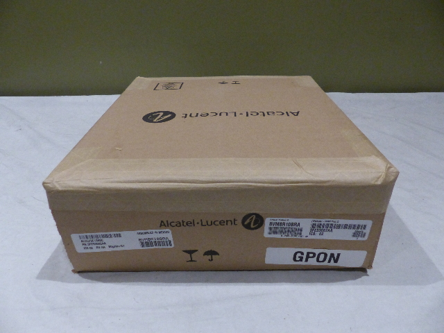 ALCATEL LUCENT OUTDOOR ONT 0-210G-B AT/&T-SP BVM8R10BRA 3FE53082AA