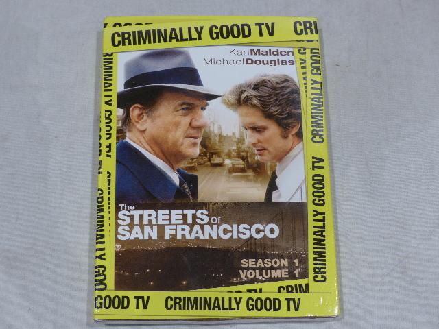 THE STREETS OF SAN FRANCISCO SEASON ONE VOLUME ONE (SEASON 1)DVD NEW W/SLIPCOVER