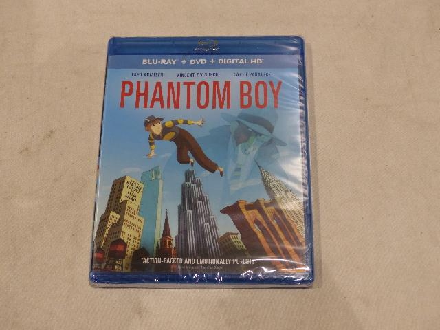 PHANTOM BOY BLU-RAY + DVD  HD NEW / SEALED