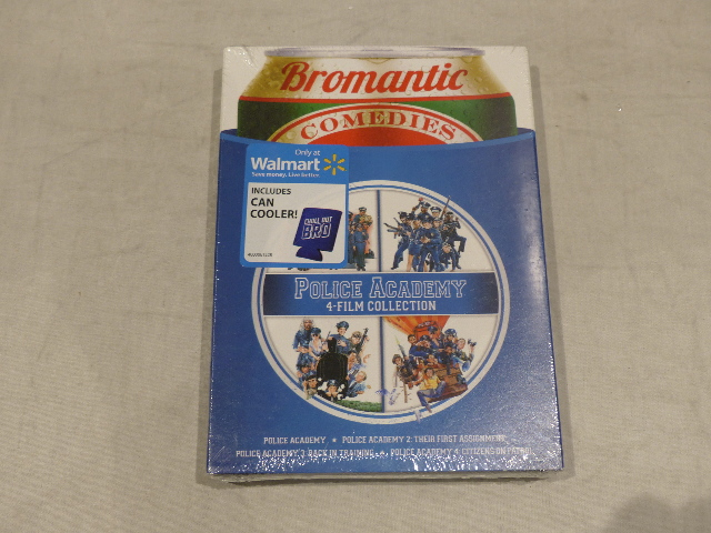 POLICE ACADEMY 4-FILM COLLECTION BROMANTIC COMEDIES DVD NEW / SEALED
