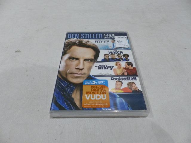 BEN STILLER 4-FILM COLLECTION DVD SET NEW
