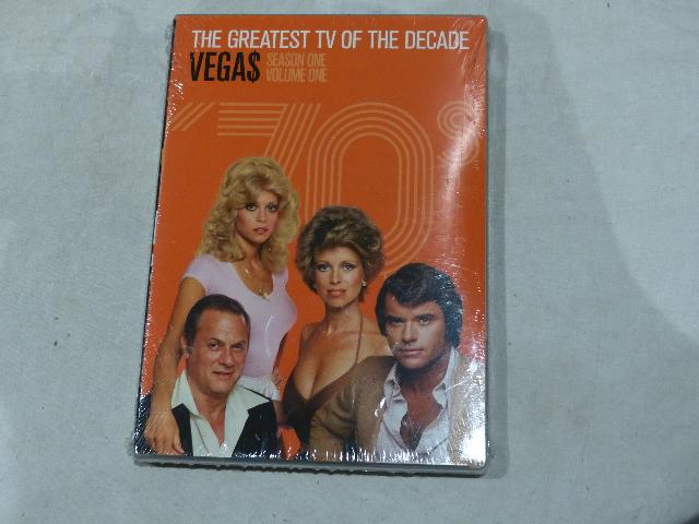 VEGA$: SEASON ONE VOLUME ONE DVD SET (THE GREATEST TV OF THE DECADE) NEW