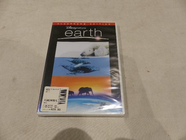 EARTH (DISNEY NATURE) CLASSROOM EDITION DVD NEW