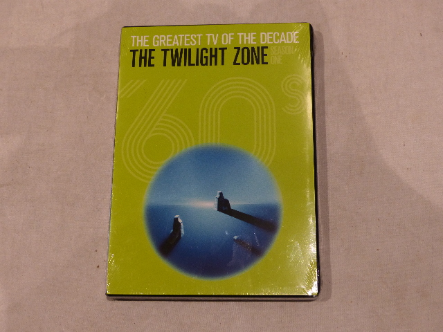 THE TWILIGHT ZONE: SEASON ONE DVD SET (THE GREATEST TV OF THE DECADE) NEW