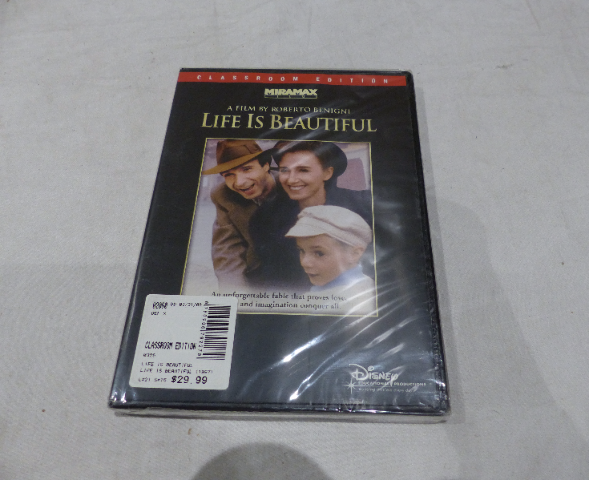 LIFE IS BEAUTIFUL (CLASSROOM EDITION) DVD NEW