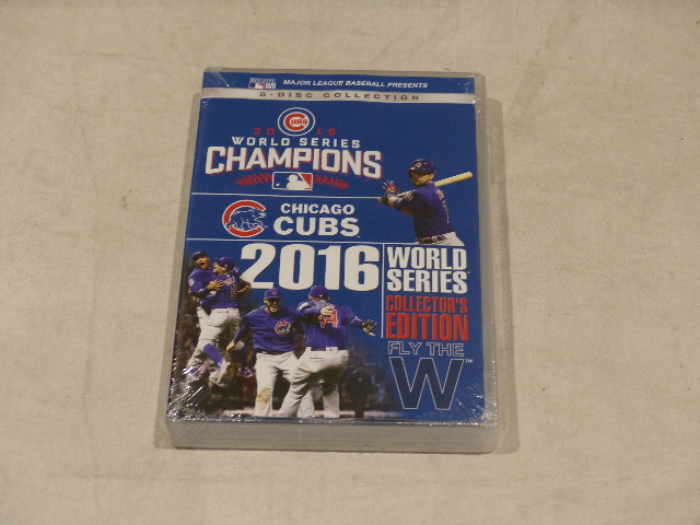 CUBS 2016 WORLD SERIES CHAMPIONS COLLECTOR S EDITION DVD SET NEW ... fb54460172ac