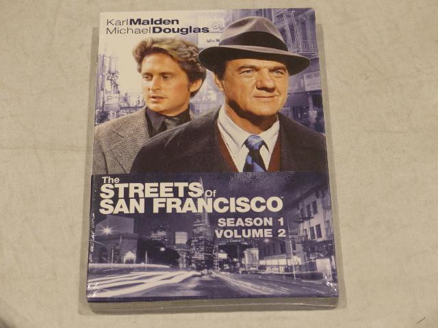 THE STREETS OF SAN FRANCISCO: SEASON 1 VOLUME 2 DVD SET NEW