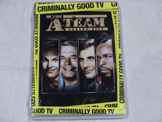 THE A TEAM: SEASON FIVE (SEASON 5) DVD SET NEW