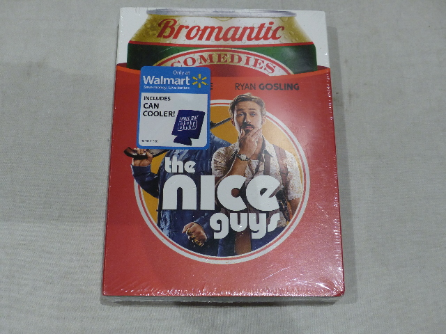 THE NICE GUYS DVD WITH CAN COOLER NEW