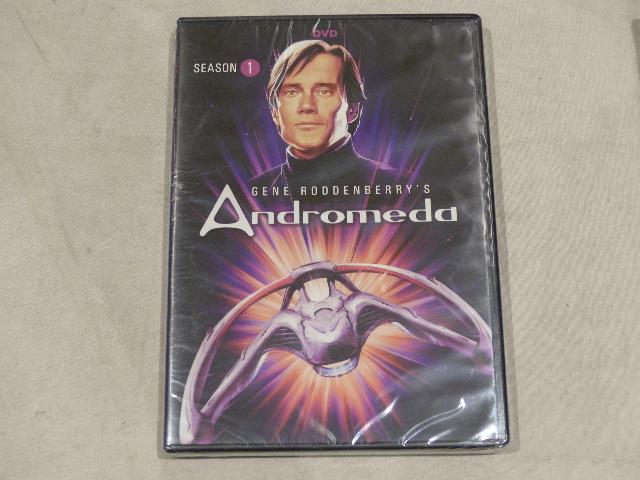 GENE RODDENBERRY'S ANDROMEDA SEASON 1 (SEASON ONE) DVD NEW / SEALED