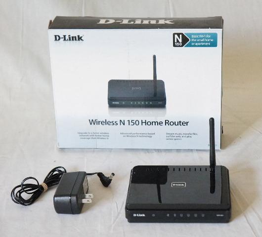 D-LINK WIRELESS-N HOME 4-PORT ROUTER DIR-601 N150