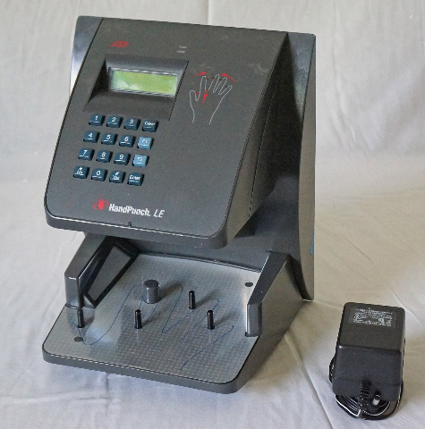ADP HP-2000 TIME CLOCK HAND PUNCH VERIFICATION SYSTEM
