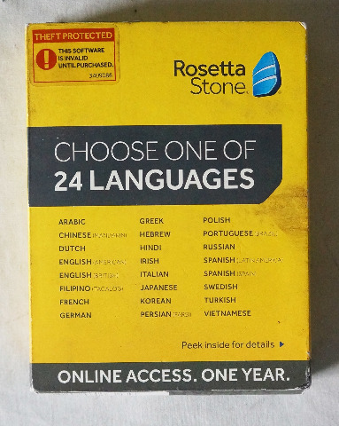 ROSETTA STONE LANGUAGE LEARNING SOFTWARE ONLINE ACCESS ISBN 9781617169373