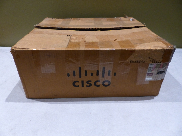 CISCO 3825 GIGABIT ROUTER CISCO3825 +VIC2-4FX0 NM-HD-2V VWIC 1MFT-T1 WIC 1DSU-T1