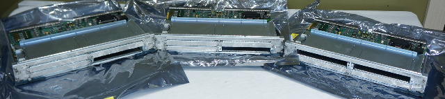 LOT OF 5* CISCO SPA INTERFACE PROCESSORS 10000-SIP-600 ASIS