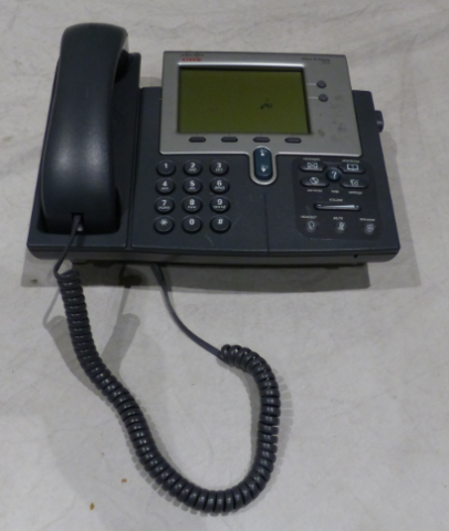 4* CISCO IP PHONE 7942 CP-7942G UNTESTED W/ PHONE HANDSET