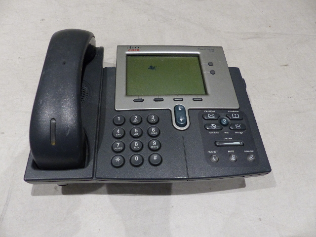 CISCO 7942 IP BUSINESS PHONES CP-7942G 0765-04-1086