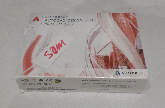 AUTODESK AUTOCAD 2015 DESIGN SUITE PREMIUM 768G1 USB MEDIA KIT