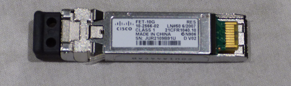 LOT OF 5 * CISCO FABRIC EXTENDER TRANSCEIVER FET-10G 10-2566-02