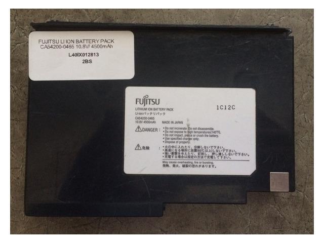 FUJITSU LI ION BATTERY PACK CA54200-0465 10.8V/ 4500mAh