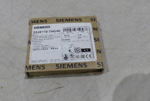 SIEMENS CIRCUIT BREAKER 5SJ4110-7HG40