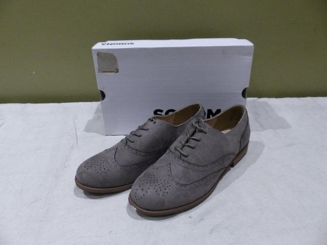 SONOMA OXFORD SNEMMORY GRAY SIZE 9 MENS SHOES NEW