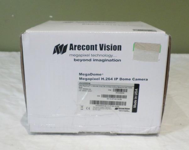 ARECONT VISION AV2255DN MEGADOME 2 2.07MP CAMERA 3.4-10.5MM VARIFOCAL LENS NEW