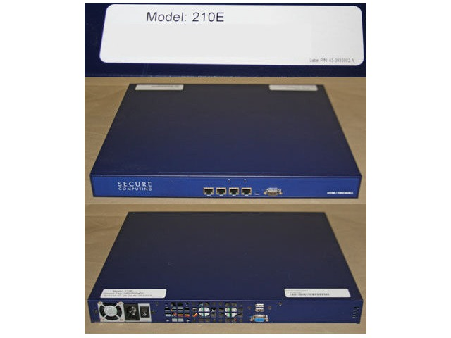 SECURE COMPUTING 210E NETWORK SECURITY APPLIANCE