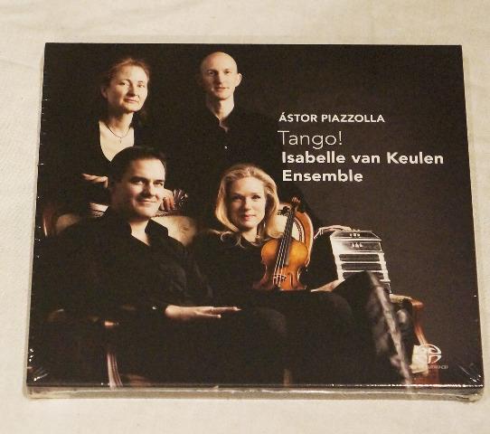 ASTOR PIAZZOLLA: TANGO! ISABELLE VAN KEULEN ENSEMBLE CD NEW / SEALED