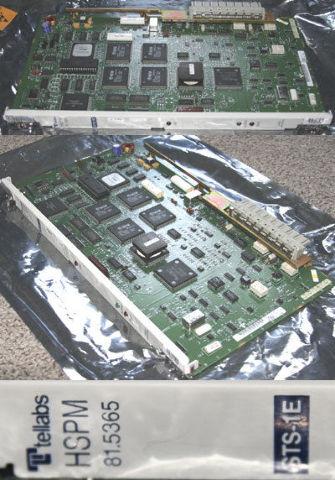 TELLABS HSPM 81.5365 REVJ STS-1E HIGH SPEED PORT MODULE