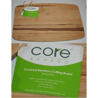 "CORE CRUSHED BAMBOO CUTTING BOARD 12"" X 9"" BRAND NEW"