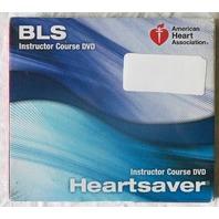 AMERICAN HEART ASSOCIATION BLS HEARTSAVER INSTRUCTOR COURSE DVD BRAND NEW