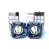 LOT OF 2* PANASONIC ET LAD60W REPLACEMENT TWINPACK LAMP ET LAD60AW