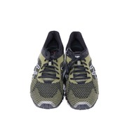 ASICS GEL-QUANTUM 360 KNIT MENS BLACK MARTINI OLIVE SILVER RUNNING SHOES
