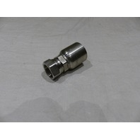 "PARKER STAINLESS STEEL HOSE FITTING FEMAL JIC STRAIGHT 37 DEG TO 1"" 10643-16-16C"