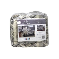 RIZZY HOME TACTON SPUR BT-1977 3 PC BEDDING SET KING COMFORTER