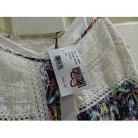 TWELFTH STREET BY CYNTHIA VINCENT CVC61667 PRINTED WESTERN HIGH LOW DRESS