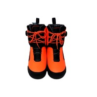HYPERLITE 73910006 KRUZ WAKE BOOTS 2017 MENS SIZE 10 BLACK/ORANGE 73910006