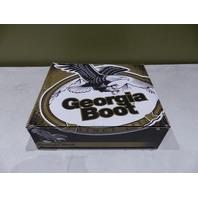 GEORGIA MENS 8IN BLACK LOGGERS WATERPROOF BOOTS SZ 11W G8010