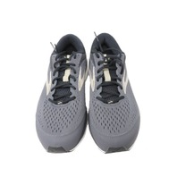 BROOKS 110286 2E 082 MENS DYAD 10 GREY RUNNING SHOES SZ 10.5