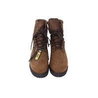 "ROCKY 6223 MENS OILED BROWN 9"" RANGER GTX STEEL TOE 600G WORK BOOTS SZ 10"