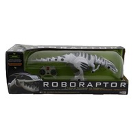 WOWWEE 8095 WHITE/GRAY ROBORAPTOR ROBOTIC DINOSAUR