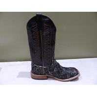 ANDERSON BEAN AB0681L MENS 13IN BIG BASS BROWN RAVEN BOOTS SZ 10D