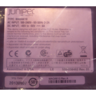 JUNIPER NETWORKS JUNOS PULSE MAG6610 SECURITY APPLIANCE