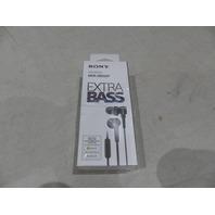 SONY MDR XB50AP EXTRA BASS IN-EAR HEADPHONES W/MIC MDR XB50AP